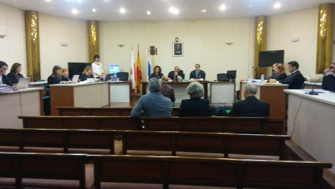 Rufino Díaz Helguera declara en el juicio de La Loma