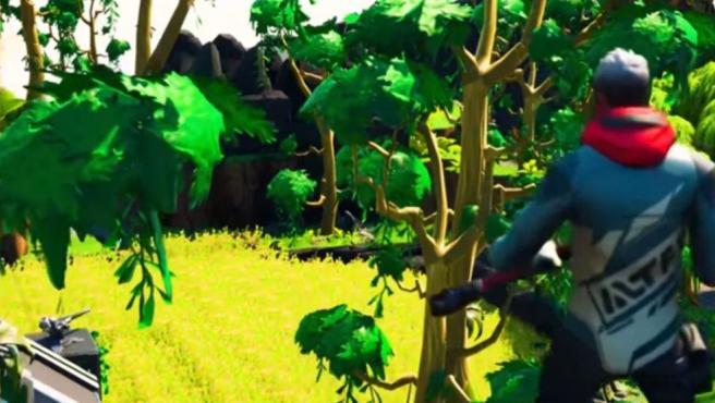Imagen de 'The Fourth Dimension', el juego creado con elementos del propio 'Fortnite'.
