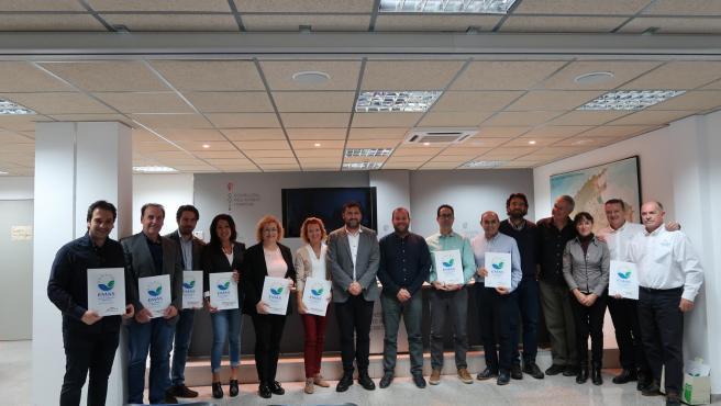 Una treintena de empresas, entidades y centros renuevan el compromiso con el medio ambiente a través del distintivo EMAS.