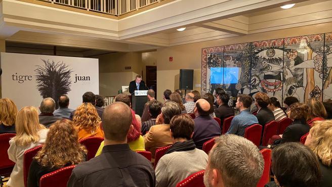 XLI Premio Tigre Juan en el Teatro Campoamor de Oviedo.