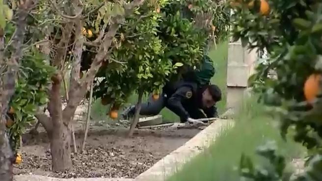 La Guardia Civil busca el cuerpo de Marta Calvo en los alrededores de Manuel.