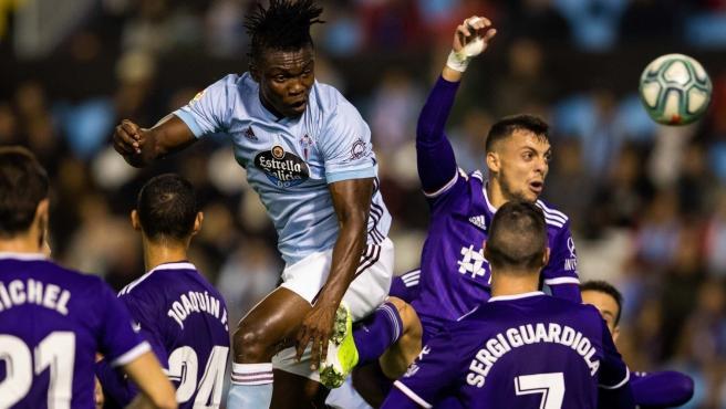 Celta y Valladolid empatan sin goles en Balaídos