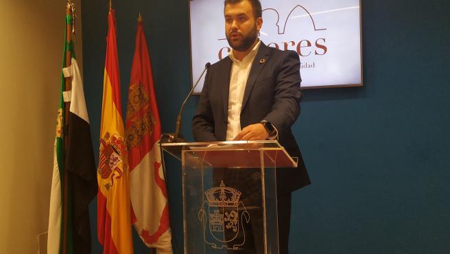 Luis Salaya, alcalde de Cáceres
