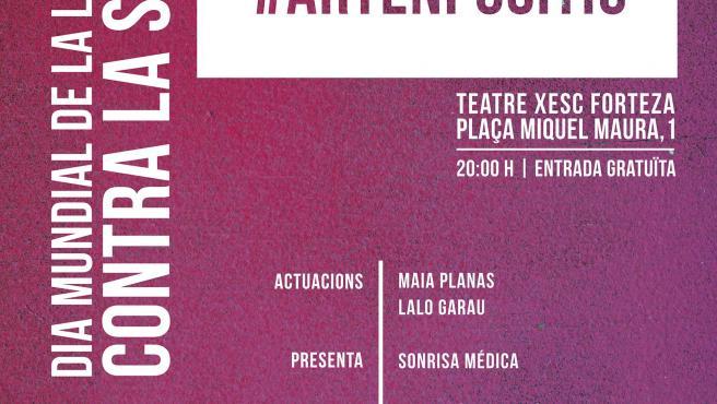 La Asociación Alas celebra este próximo domingo, día 1 de diciembre, una gala por el Día Mundial de la Lucha contra el Sida en el Teatre Xesc Forteza de Palma