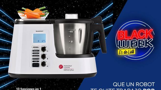 Imagen del robot de cocina de Lidl que se ha puesto a la venta por 199 euros.