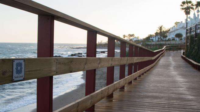 Senda litoral Málaga