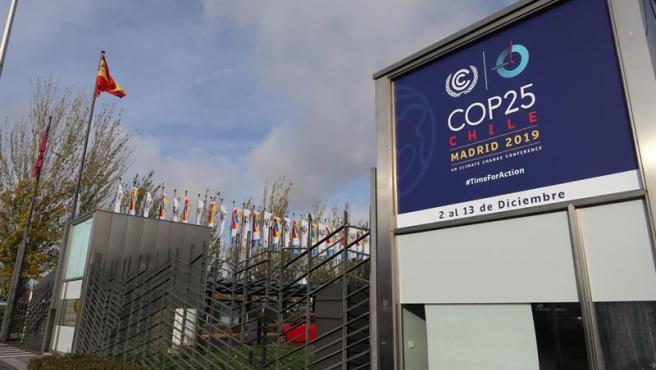 El recinto ferial de Ifema, en Madrid, antes de acoger la Cumbre Mundial del Clima COP25.