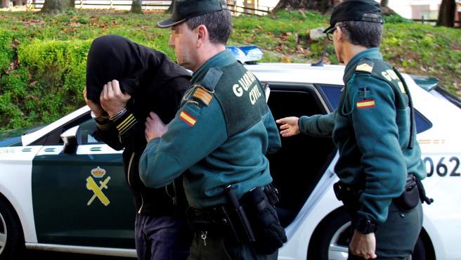 Uno de los por el narcosubmarino con 3.000 kilos de cocaína pasa a disposición de la autoridad judicial.
