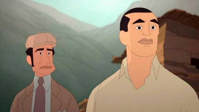 El largometraje 'Buñuel en el laberinto de las tortugas' se promociona en Hollywood