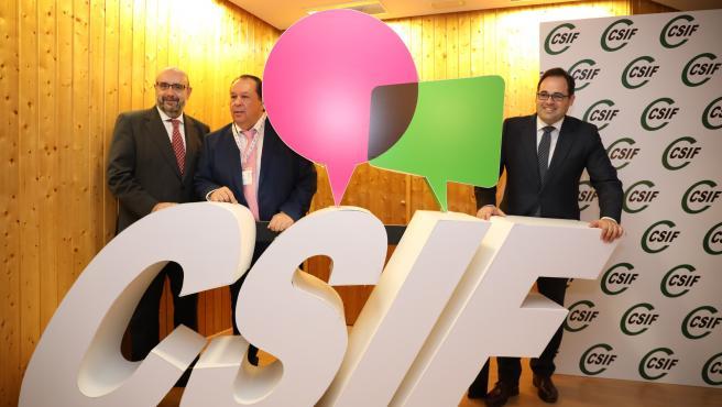 El presidente del PP C-LM, Paco Núñez, en el congreso de CSIF.