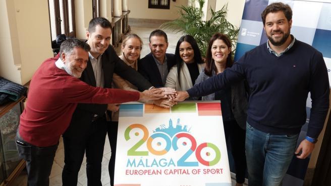 Presentación de la Gala de la Capitalidad Europea del Deporte