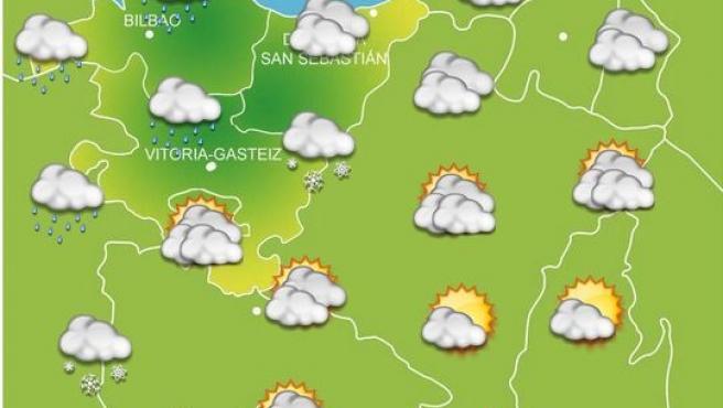 Previsiones meteorológicas para el 2 de diciembre en Euskadi