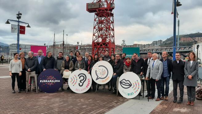 Primeras entidades que se han sumado a Euskaraldia 2020