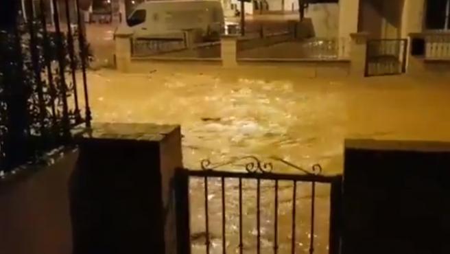 Las lluvias han asolado San Javier y sus alrededores