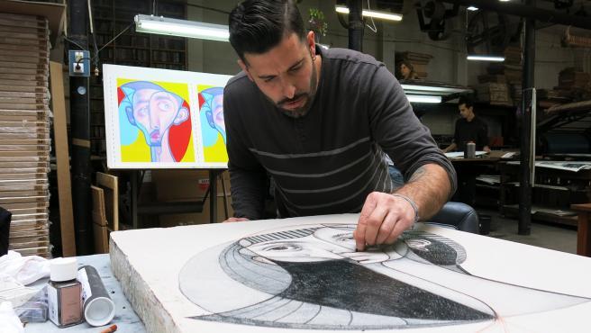 El grafitero Belin realizará una intervención en un edificio de Estepona dentro de la Ruta de los Murales Artísticos