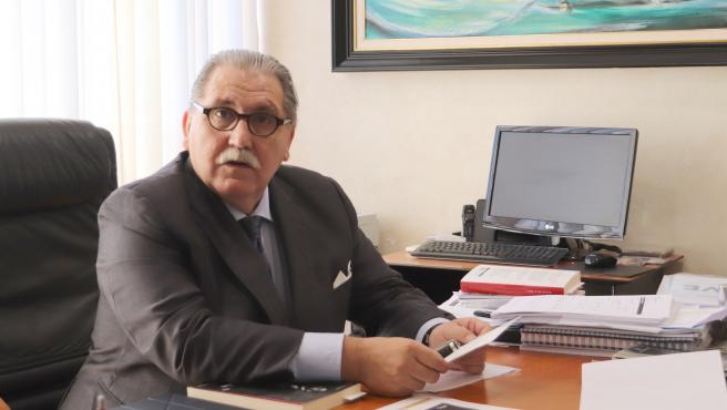 El presidente de la Cámara de Comercio de Zaragoza, Manuel Teruel.