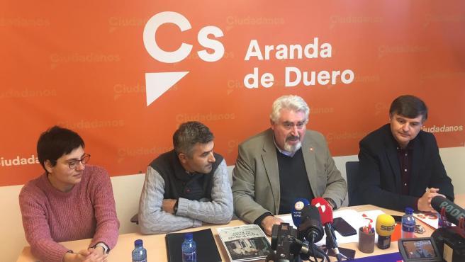 El procurador de Cs José Antonio Delgado anuncia la PNL para lograr que el Belén Viviente de Torregalindo sea de Interés Turístico Regional.