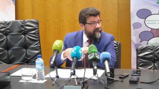 El secretario general de la Creex, Francisco Javier Peinado, en una imagen de archivo