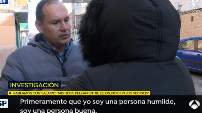 """Entrevista de la """"matriarca"""" a 'Espejo Público'."""