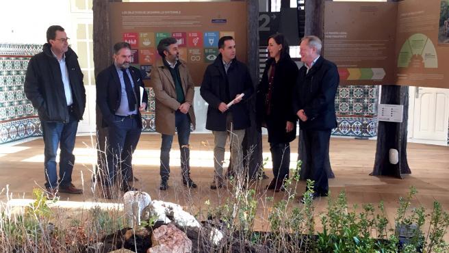 Inauguración de la exposición 'Los Bosques y su contribución a la consecución de los Objetivos de Desarrollo Sostenible 2030' , en la antigua Escuela de Comercio de Gijón