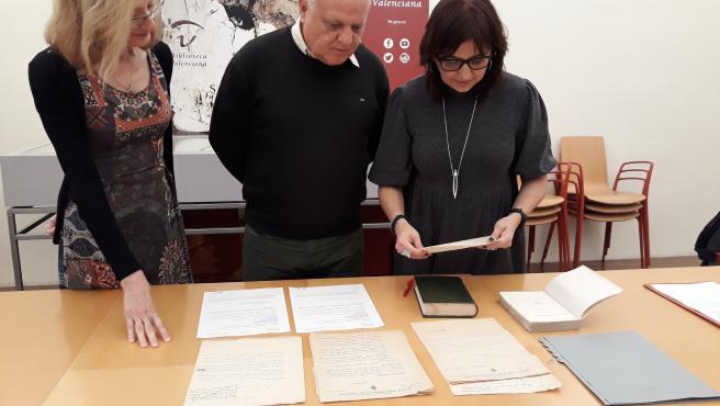 La Biblioteca Valenciana aumenta los fondos documentales de Vicente Blasco Ibáñez