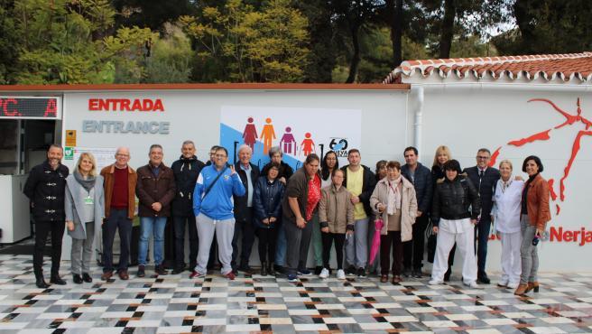 La Fundación Cueva de Nerja conmemora el Día Internacional de las Personas con Discapacidad