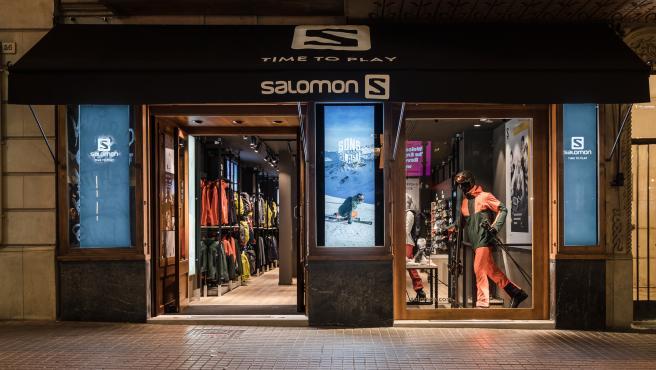 La nueva tienda de Salomon, en Barcelona