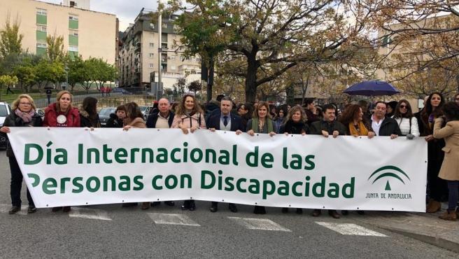 Marcha por el Día Internacional de las Oersonas con Discapacidad