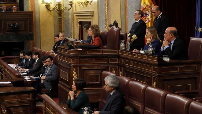 Meritxell Battet, reelegida como presidenta del Congreso de la XIV legislatura