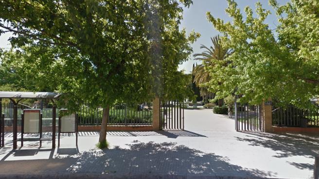 Parque Profesor Antonio Llombart, donde fueron perseguidas las víctimas.
