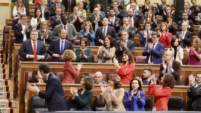 Pedro Casares, entre los diputados nacionales del PSOE que han tomado posesión