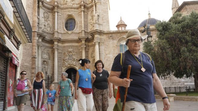 Pregrinos del Camino de Santiago