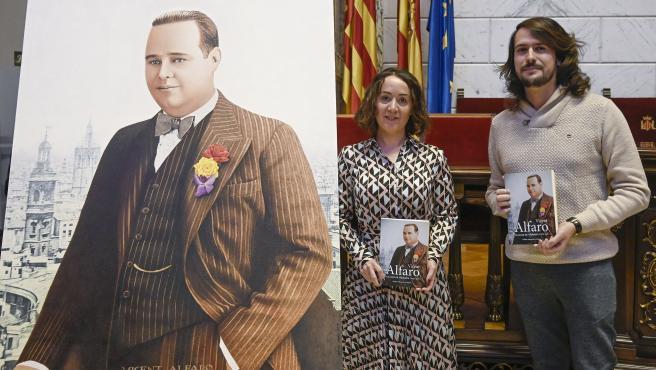 Presentació del llibre sobre l'exalcalde de València Vicent Alfaro