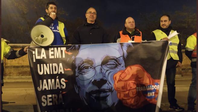 Protesta de los trabajadores