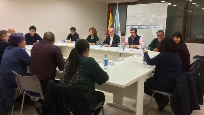 Reunión con el conselleiro de Sanidade sobre el cierre del paritorio de Verín