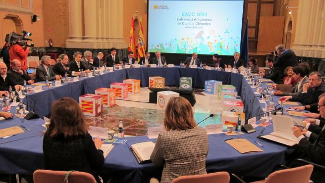 Se constituye el Consejo Aragonés del Clima.