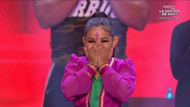 Triana 'La Canela', en 'Got Talent'.