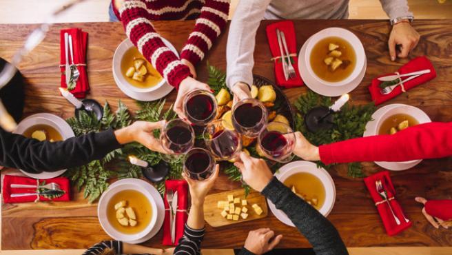 En las cenas de Navidad hay quien busca sorprender a sus invitados.
