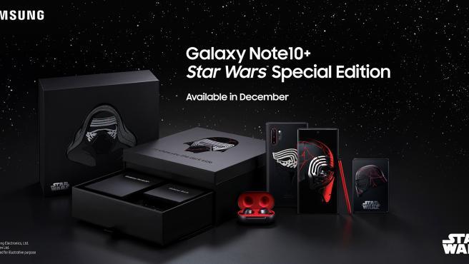 Sale a la venta una edición especial de Star Wars del Samsung Galaxy Note10+