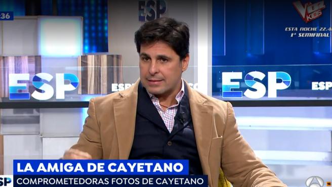 Fran Rivera defiende a su hermano Cayetano en 'Espejo Público'.