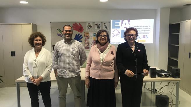 La vicepresidenta de EAPN-Es, Sali Guntín, ha aparticipado en jornada 'Difusión de Resultados: Estudio de Género y Desigualdad' en Palma.