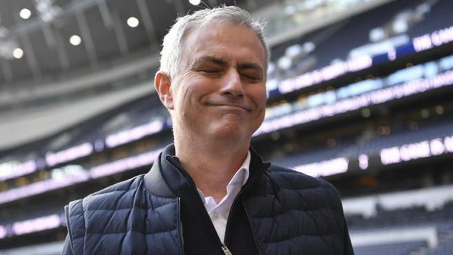 Jose Mourinho, en el estadio del Tottenham.