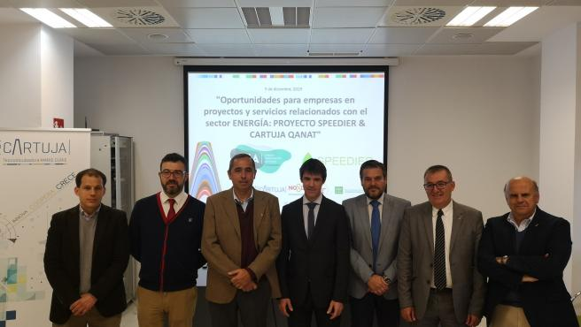 Concluye la primera fase de trabajos previos en la avenida Thomas Alva Edison del proyecto Cartuja Qnat