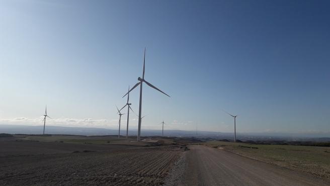 Enel Green Power España conecta a la red dos parques eólicos en Zaragoza que suman 75 megavatios.