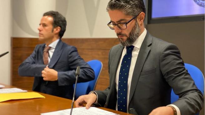 Gerardo Antuña e Ignacio Cuesta.