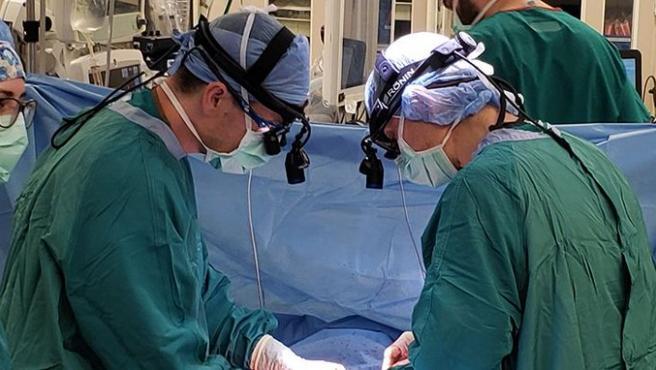 Imagen de un equipo de médicos del Hospital Universitario de Duke (EE UU).