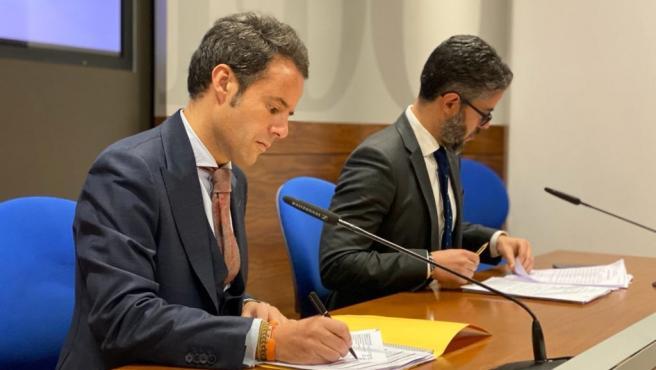 Ignacio Cuesta y Gerardo Antuña.