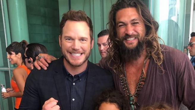 Jason Momoa se disculpa con Chris Pratt por sus críticas a través de Instagram