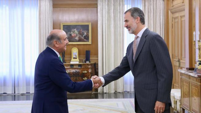 José María Mazón con Felipe VI