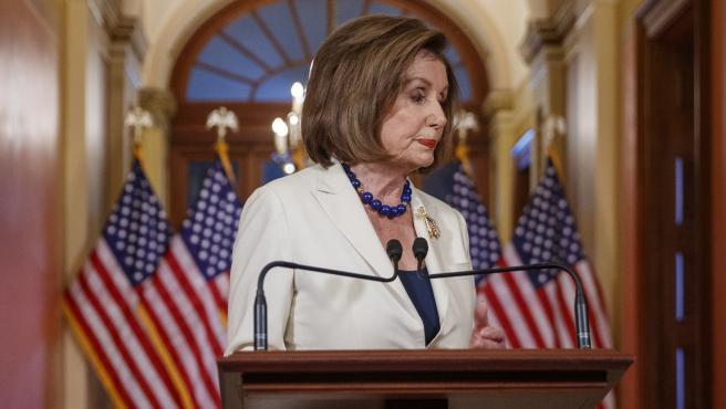 Nancy Pelosi anuncia que activará el 'impeachment' contra Trump.